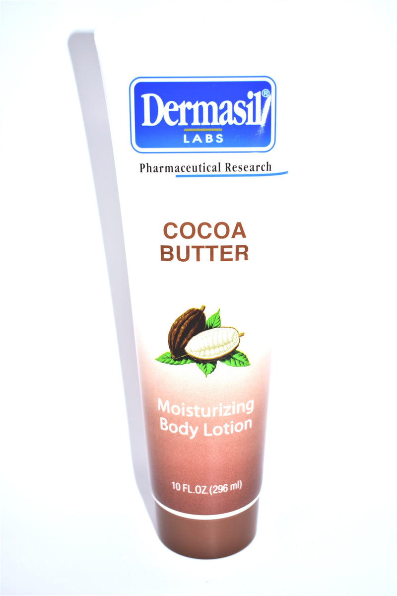 Dermasil Labs Cocoa Butter Moisturizing Body Lotion, 10 fl oz.