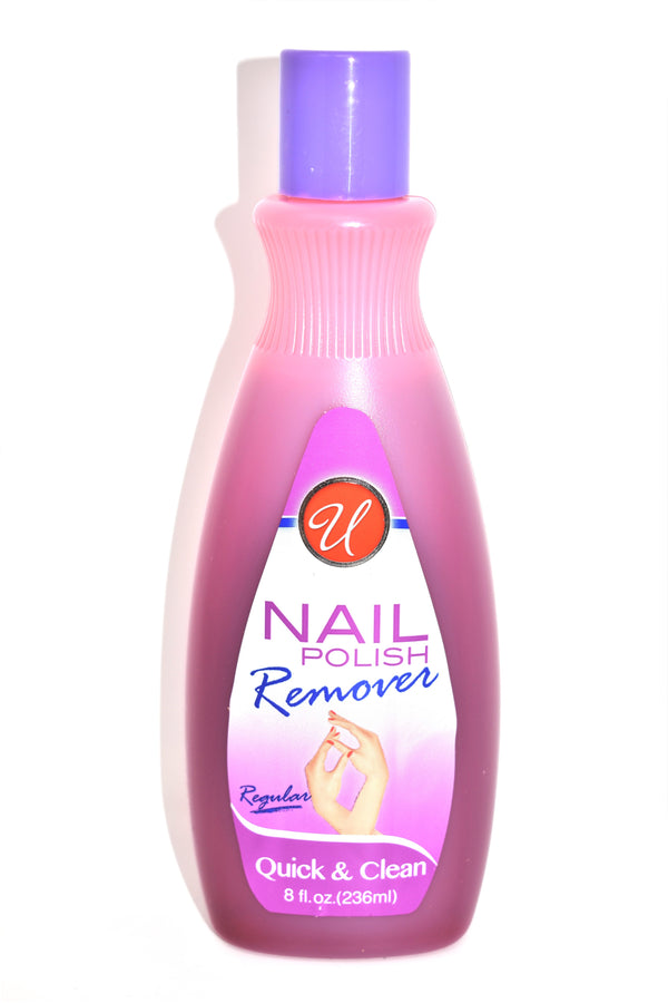 Universal Regular Nail Polish Remover, 8 fl oz.