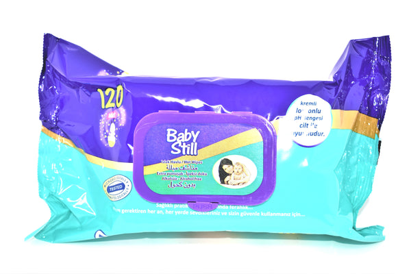 Baby Still Baby Wipes, 120 ct.