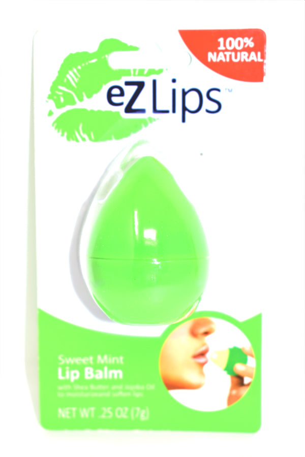 EZ Lips 100% Natural Sweet Mint Lip Balm