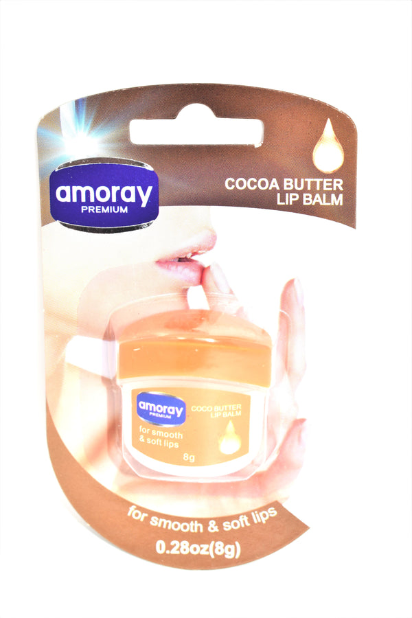 Amoray Premium Cocoa Butter Lip Balm For Smooth & Soft Lips