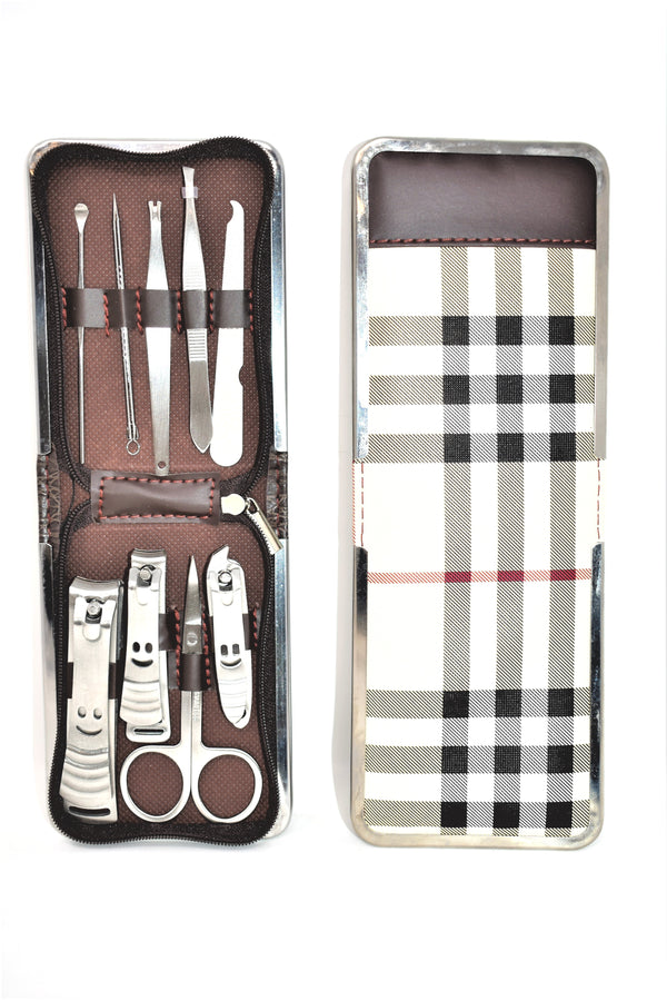 9 Piece Manicure Set With Carrying Case