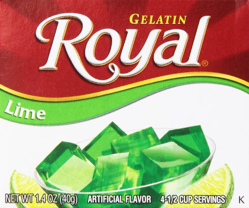 Royal Lime Gelatin, 1.41 oz
