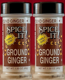 Spice It Family Size Ground Ginger, 1.25 oz (Pack of 2)