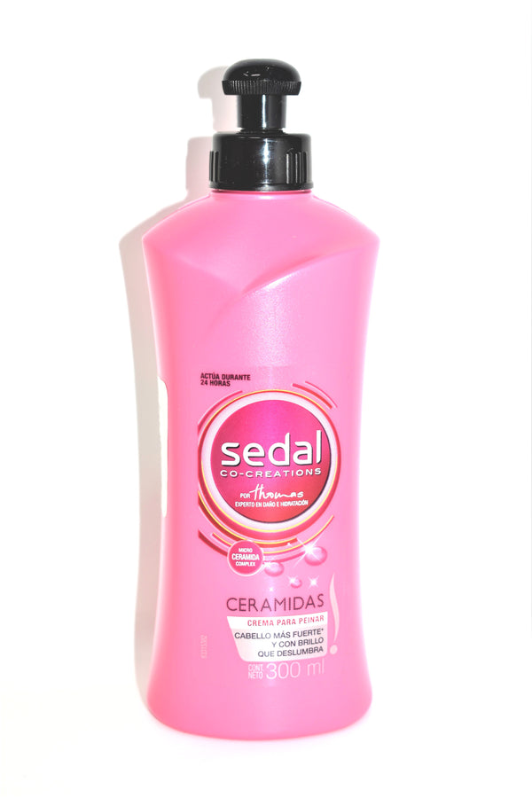 Sedal Co-Creations por Thomas Ceramidas Crema Para Peinar, 300ml