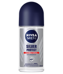 Nivea Men Silver Protect Antibacterial Roll-On Deodorant, 50 ml