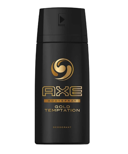 Axe Gold Temptation Deodorant + Body Spray, 150ml