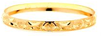 14 KT Gold Filled Bangle 50 mm, Size-3