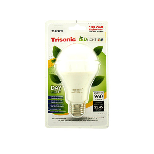 12 Watt (100 Watt Equivalent) Energy Saving LED Light Bulb, Day Light