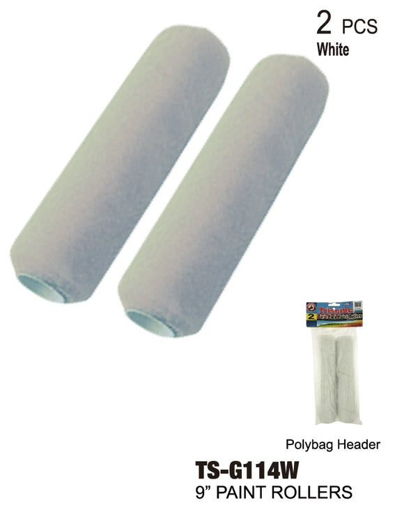 White Twin Pack Paint Rollers, 2-Ct.