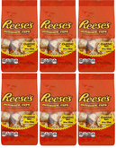Reese's Miniature Cups Milk Chocolate and Peanut Butter, 12 oz (Pack of 6)