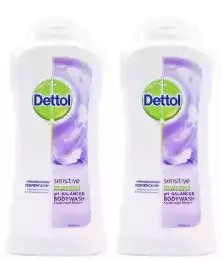Dettol Sensitive Long Lasting Moisture Antibacterial Body wash, 100 gm (Paack of 2)