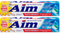 Aim Cavity Protection Ultra Mint Paste Toothpaste, 5.5 oz. (Pack of 2)