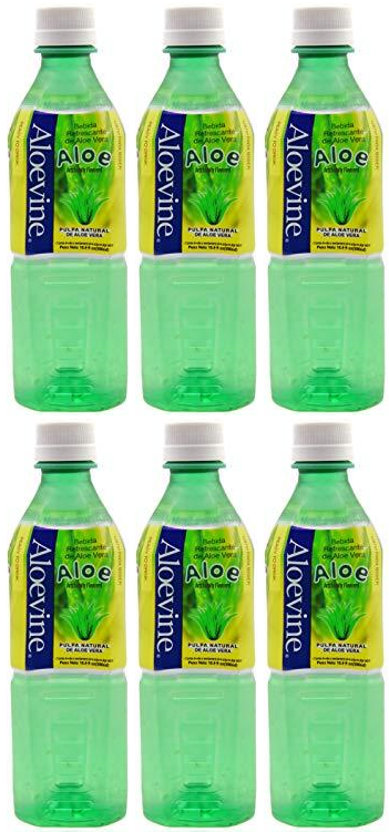 Aloevine Aloe Drink, 500 ml (Pack of 6)