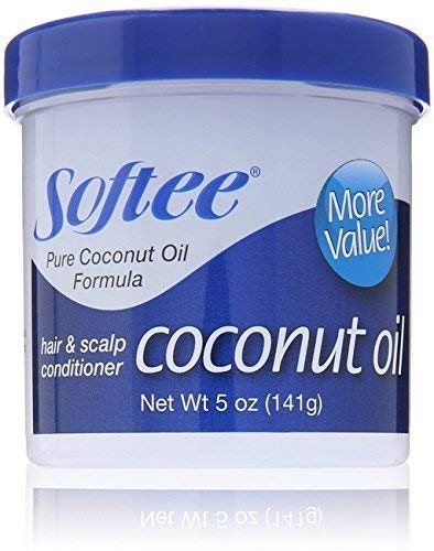 Softee Coconut Oil Hair & Scalp Conditioner, 5 oz.