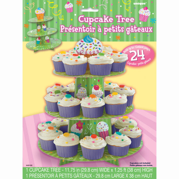 Cupcake Holder Tree, 3-Layers