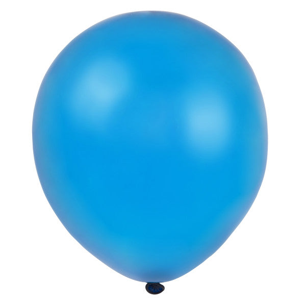 "12"" Helium Balloons Twilight Blue, 10-ct."