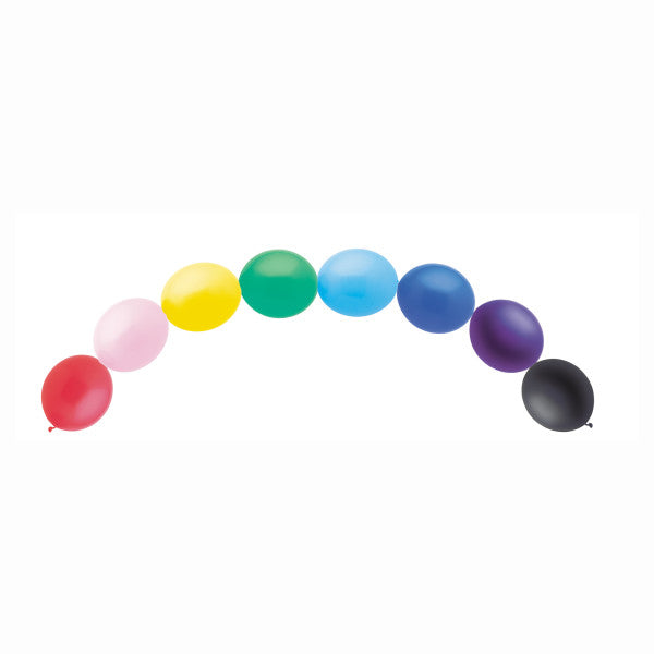 Linking Balloons Multicolor Banner, 15-ct.