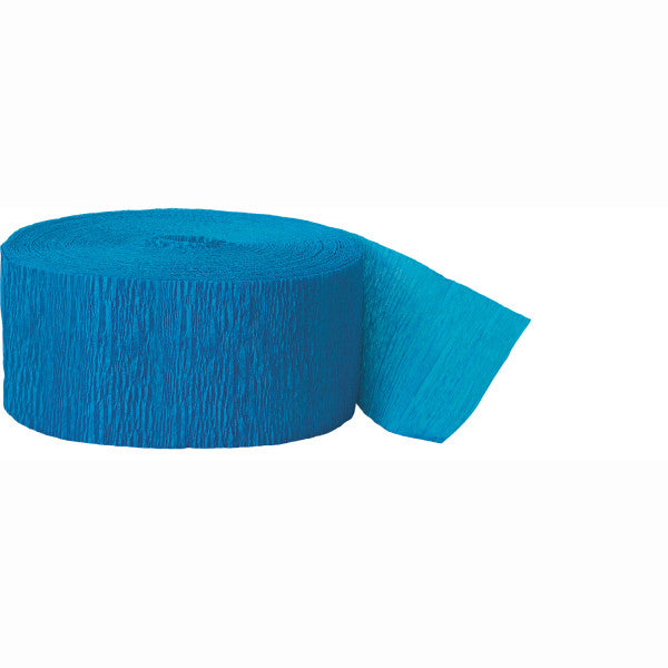Party Streamer Blue, 81 ft. x 1.75 in.