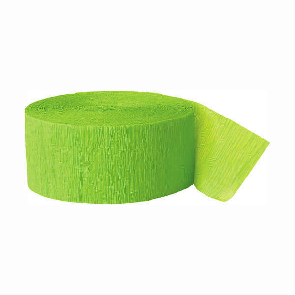 Party Streamer Green, 81 ft. x 1.75 in.