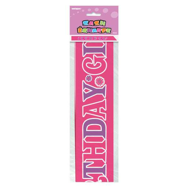 Birthday Girl Sash Ribbon