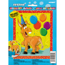 Festive Pin The Tail On The Donkey Game Deluxe Set