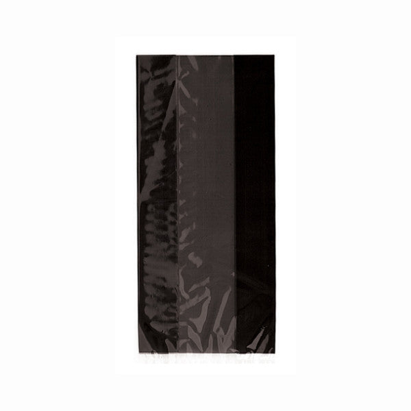 Black Cellophane Party Bags, 30-ct.