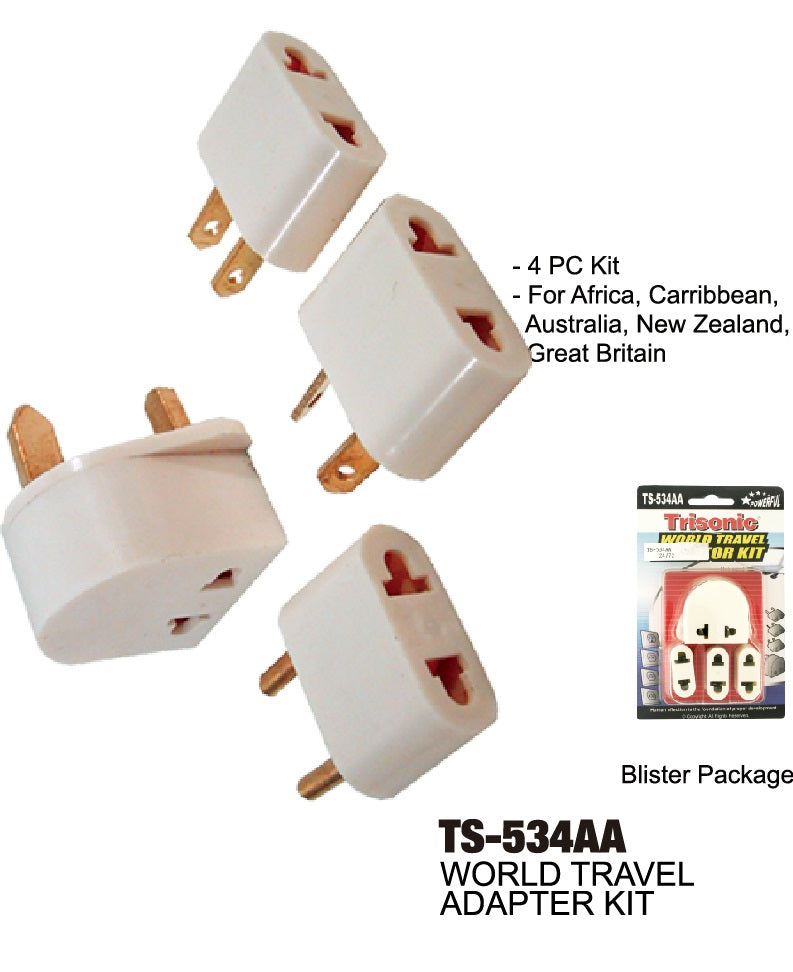 World Travel Adapter Kit Universal