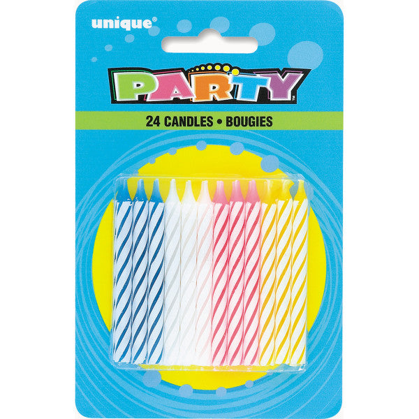 Birthday Party Candles, 24-ct.