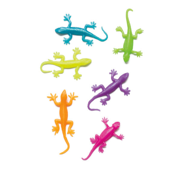 Stretchy Spiders, Snakes, Salamanders Party Favors, 8-ct.