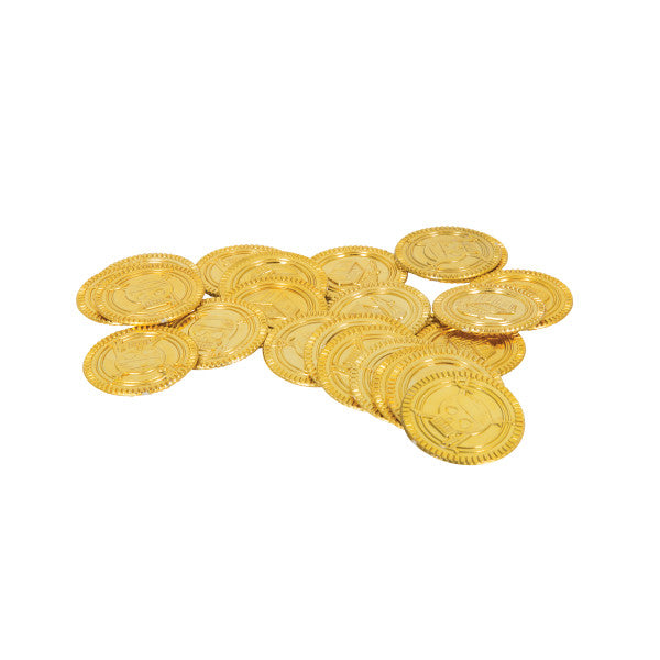 Gold Coins Party Favors, 30-ct.