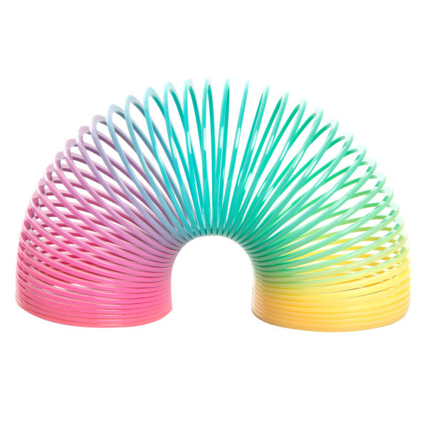 Rainbow Slinky Springs Party Favors, 4-ct.