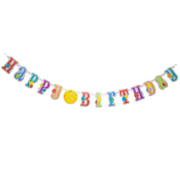 Customizable Age Birthday Banner Kit, 7 ft.