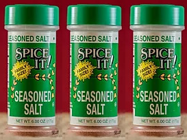 Spice It Family Size Seasoned Salt, 6 oz (Pack of 3)