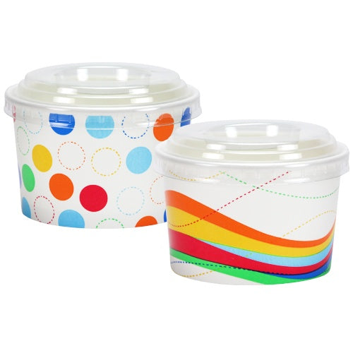 8 oz. Party Cups with Lids, 10 ct.