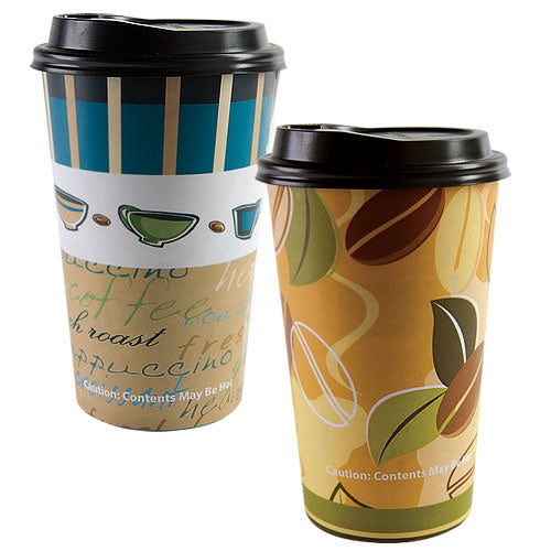 16 oz. Hot/Cold Cup with Lid, 16-ct.