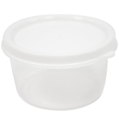 2.3 oz. Mini Storage Containers Round, 10 Count
