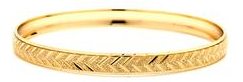14 KT Gold Filled Bangle 57 mm, Size-4