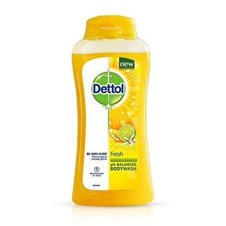 Dettol Fresh Long Lasting Odor Protection Antibacterial Body wash, 100 gm