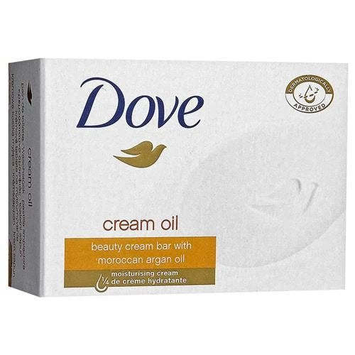Dove Cream Oil Bar Soap, 100g