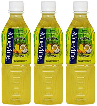 Aloevine Pina Colada Drink, 500 ml (Pack of 3)