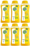 Dettol Fresh Antibacterial Body Wash Yuzu Citrus, 100g (Pack of 6)