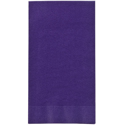Purple Guest Towels 16 Count
