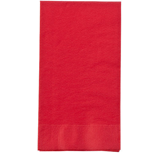 Red Guest Towel 16 Ct.