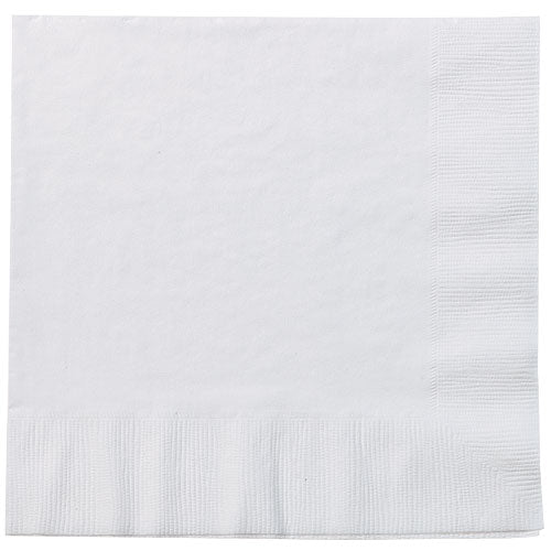 White Lunch Napkins 20 Count