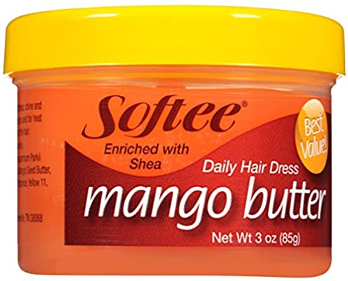 Softee Mango Butter Daily Hair Dress, 3 oz.