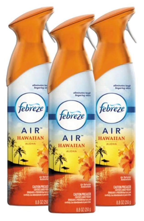 Febreze AIR Hawaiian Aloha Air Freshener, 8.8oz (Pack of 3)