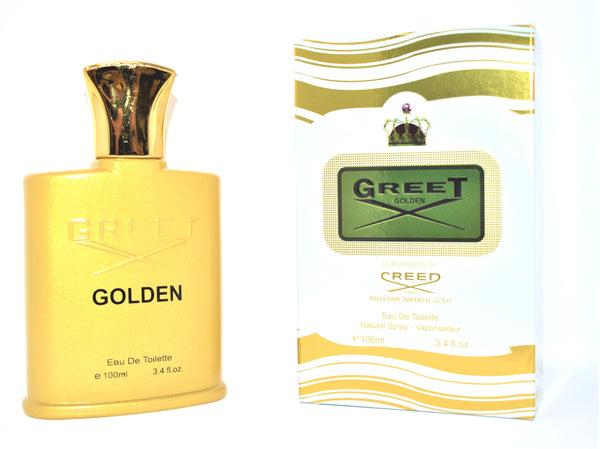 Greet Golden - Our Version of Creed 1760 Millesime Imperial Gold - Eau De Toilette Natural Spray, 100ml 3.4 fl oz