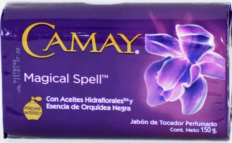 Camay Magical Spell Fragancias Bar Soap, 150g