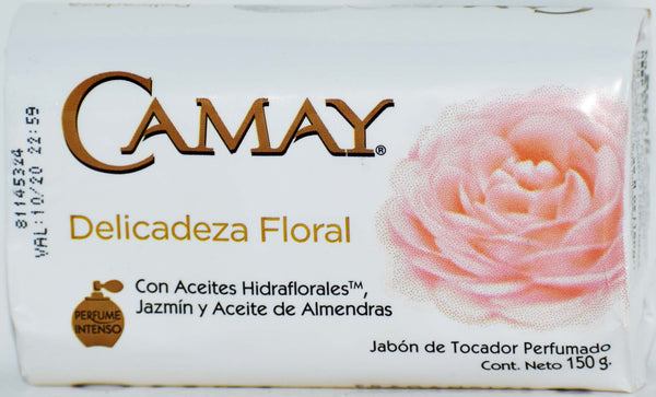 Camay Delicadeza Floral Fragancias Bar Soap, 150g